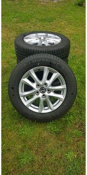 Neue Felgen und Reifen Michelin