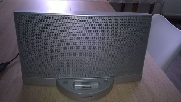 Bose Sounddock Series II silberfarben