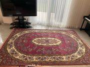 Türkischer Teppich aus Kammgarn Wolle