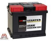 Langzeit Autobatterie 45Ah 12V