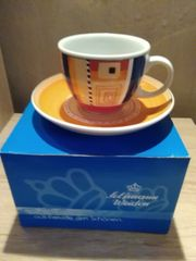Cappuccino Tasse mit Untertasse