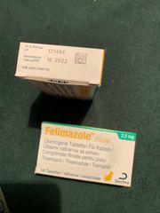 Felimazole 2 5 mg Katzentabletten