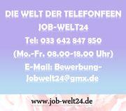 Telefonistin Job Arbeit Heimarbeit Homeoffice