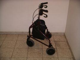 Medizinische Hilfsmittel, Rollstühle - Reise-Rollator INVACARE Schweden