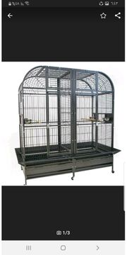 Papageienkäfig Folierer zu verkaufen doppelseitig