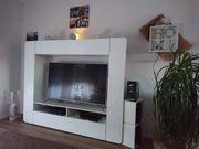 Wohn Mediawand mit Philips 4K