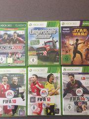 Verschiedene XBOX 360 Spiele