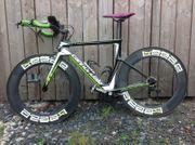 Cannondale Slice mit Aero-Laufrädern von