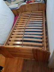 Massiv Holz Bett Mit Lattenrost