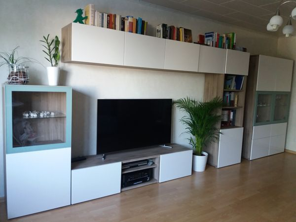 Wohnzimmer Ikea Besta in Andernach - Wohnzimmerschränke, Anbauwände ...