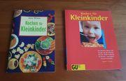2 Kinderkochbücher Kochen für Kleinkinder