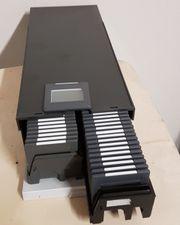 Stapelmagazin mit 100 Dia-Wechsel-Rähmchen 36x24mm