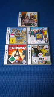 5x Nintendo DS-Spiele