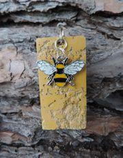 Unsere Bienen Kollektion Schmuck Anhänger