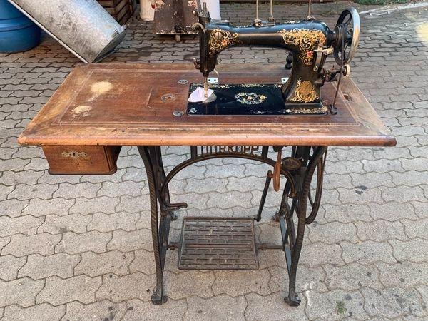Antike Nähmaschine - Dürkopp