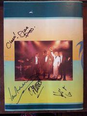 Jethro Tull - 4X original signiertes