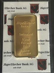 Goldbarren 1 Unze von Züricher
