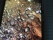 Auffüllen Erde mit Schotter gemischt