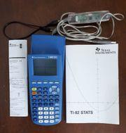 TI-82 STATS Taschenrechner neuwertig