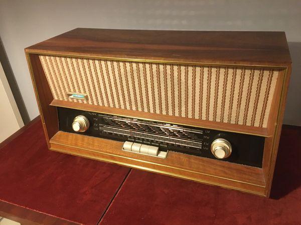 Röhrenradio Dampfradio Mid Century Quelle