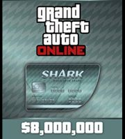GTA online Cash Card 8