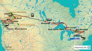 E-Book Reise nach Kanada - Von