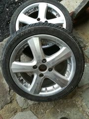 Alufelgen mit Reifen VW Polo