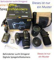 Spiegelreflexkamera Behinderter sucht Digitale Spiegelreflexkamera