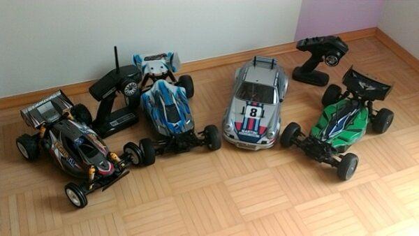 verkaufe 1 10 rc- cars