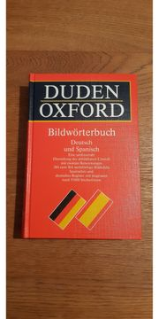 DUDEN Oxford Deutsch Spanisch Bildwörterbuch