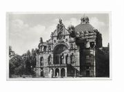 Fotoglanzkarte Nürnberg Stadttheater vor 1945