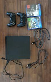 PlayStation 4 Slim- incl 2
