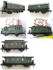 Personenwagen für Nostalgie-Zug H0 Eisenbahn