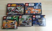 5 LEGO STAR WARS SETS