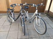 2 Touren-Fahrräder Reiseräder Tourenrad Reiserad