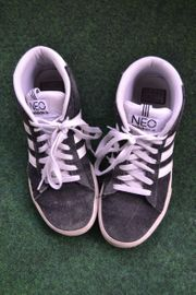 Verkaufe adidas neo Schuhe schwarz