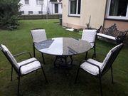 Schöne Garten - Sitzgarnitur und Bank