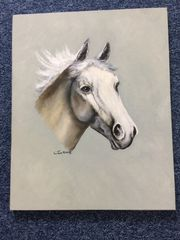 Pferde Bild handgemalt