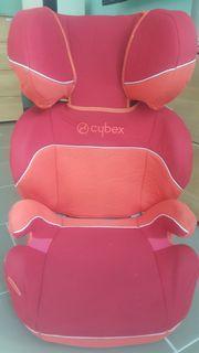 Kindersitz Autositz Cybex Solution rot