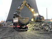 LKW Fahrer im Baustellenverkehr