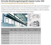 Schulte Hallenheizung etastar turbo 200