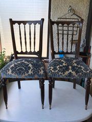 4 klassische Esszimmer-Stühle