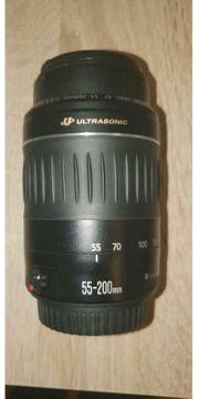Canon Teleobjektiv EF 55-200mm 55-200