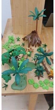 Playmobil Bäume Palmen Pflanzen Konvolut