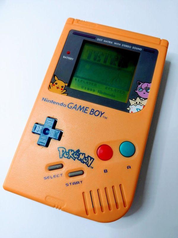 Nintendo Gameboy Classic Pokemon Edition