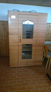 Neuwertige Infrarot- Sauna