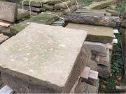 Sandsteinplatten - für Wegebau Terrasse Weinkeller