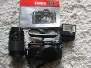 Konica Autoreflex TC Kamera mit
