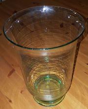 Großes Kerzenglas Windlicht Glas neuwertig