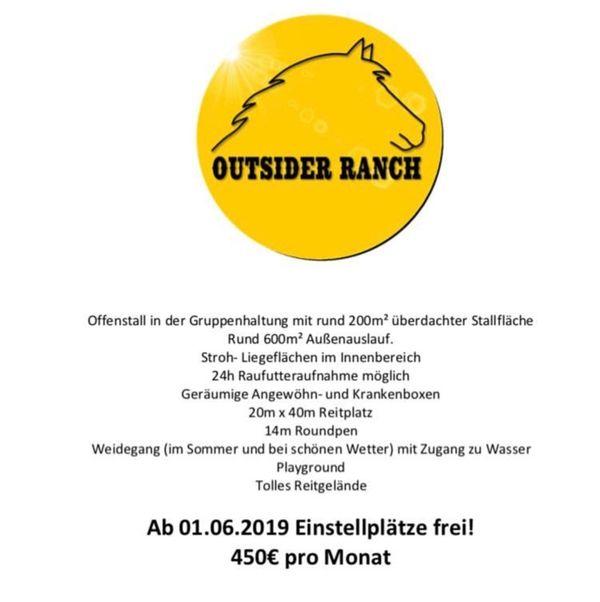 Einstellplatz ab September in Brederis